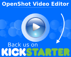 Become a backer of OpenShot on Kickstarter!