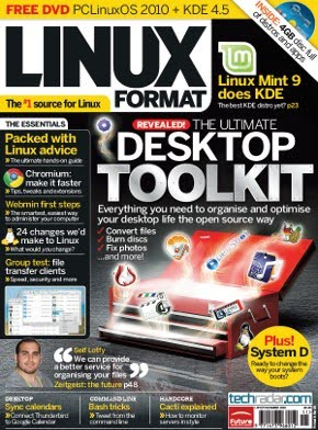 Linux Format magazine includes article on OpenShot